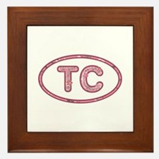 TC Pink Framed Tile