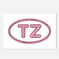 TZ Pink Postcards 8 Pack