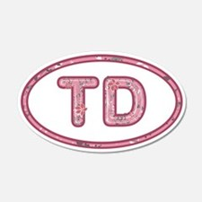 TD Pink Wall Decal