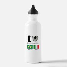 BRAZIL-ITALY Water Bottle