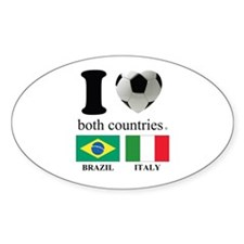BRAZIL-ITALY Decal