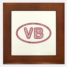 VB Pink Framed Tile