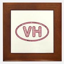 VH Pink Framed Tile