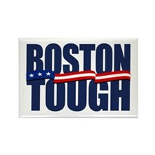 Boston Tough Rectangle Magnet (10 pack)