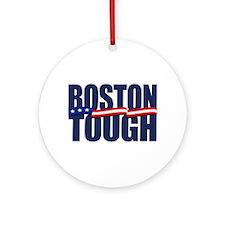 Boston Tough Ornament (Round)
