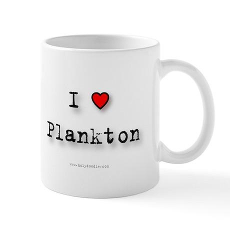 I Love Plankton Mug