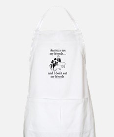 Animals are my friends Apron