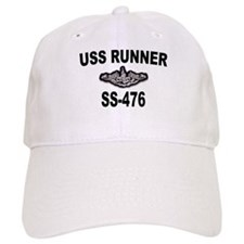 USS RUNNER Baseball Cap