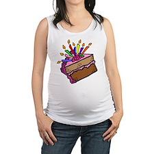 BIRTHDAY CAKE [11] Maternity Tank Top