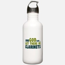 Let There Be Clarinets Water Bottle