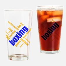 kawsu boxing Drinking Glass