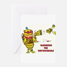 Bleemiggs The Untouchable Greeting Cards