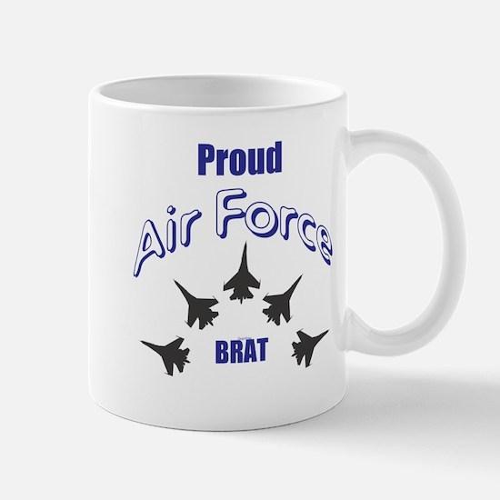 Proud Air Force Brat Mugs