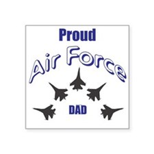 Proud Air Force DAD Sticker