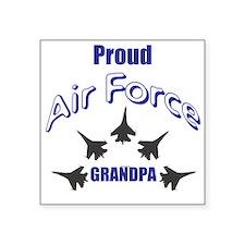 Proud Air Force Grandpa Sticker