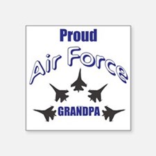 Proud Air Force Grandpa Sticker