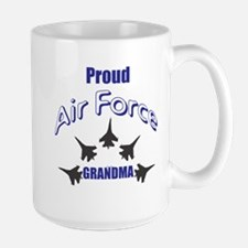 Proud Air Force Grandma Mugs