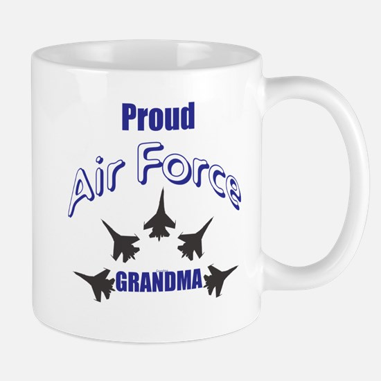 Proud Air Force Grandma Mugs