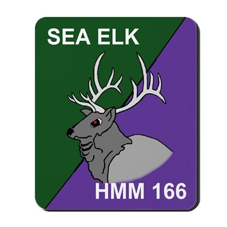 Medium Helicopter Squadron 166 Mousepad