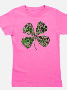 Extra Lucky Four Leaf Clover T-Shirt