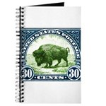 Antique 1923 U.S. American Bison Postage Stamp Jou