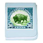 Antique 1923 U.S. American Bison Postage Stamp bab