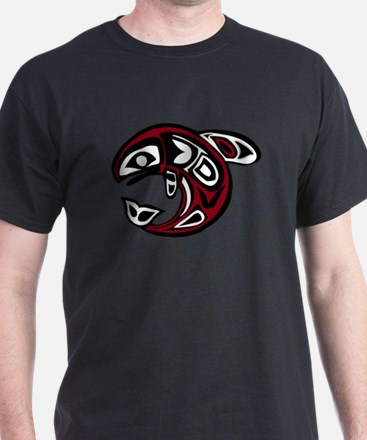 PNW Tribal Salmon T-Shirt