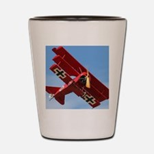 The Red Baron Flies 1 Shot Glass