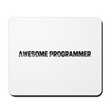 Awesome Programmer Mousepad