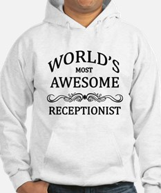 World's Most Awesome Receptionist Hoodie