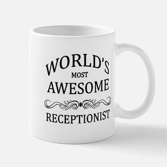 World's Most Awesome Receptionist Mug