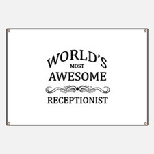 World's Most Awesome Receptionist Banner