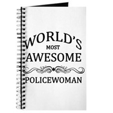 World's Most Awesome Policewoman Journal