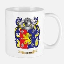 Nieto Coat of Arms (Family Crest) Mugs