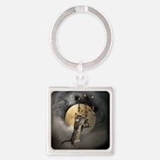 Cat Candles Moon Keychains