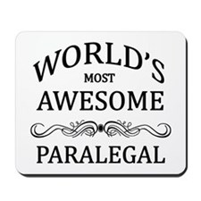 World's Most Awesome Paralegal Mousepad