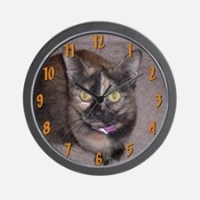 Tort Calico Wall Clock