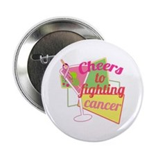 """Cancer Martini 2.25"""" Button (10 pack)"""