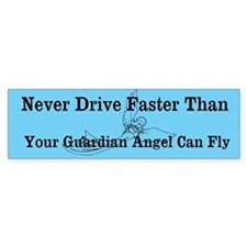 Guardian Angel - Bumper Sticker