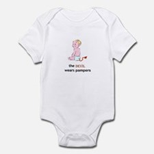 The Devil Wears Pampers Infant Bodysuit