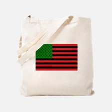 African American Flag Small Canvas Tote Bag