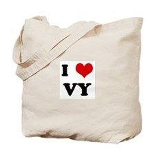 I Love VY Tote Bag