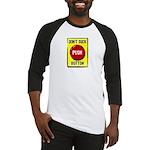 Don't Suck Button Baseball Jersey