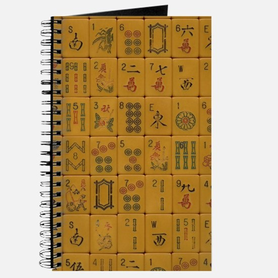 Old Style Mah Jongg Tile Journal