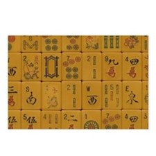 Old Style Mah Jongg Postcards (Package of 8)