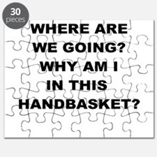 WHERE ARE WE GOING Puzzle
