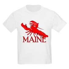 Maine Lobster Kids T-Shirt