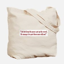 Benvolio Tote Bag