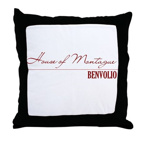 Benvolio Throw Pillow