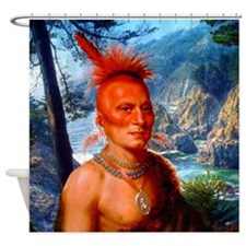 Pawnee Scout Shower Curtain